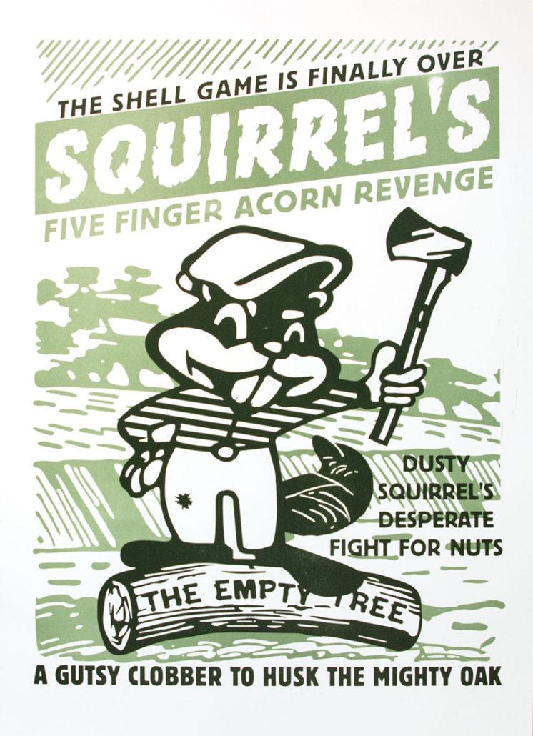 Letterpress Poster